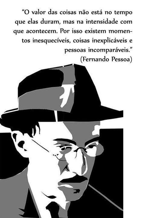 Homenagem ao poeta FernandoPessoa
