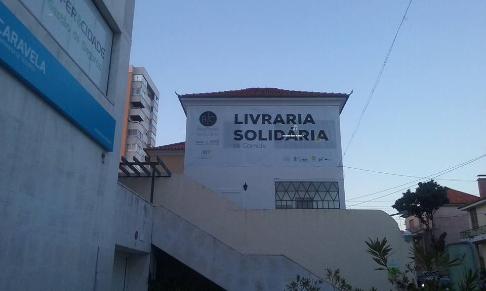 Livraria solidária em Carnide,Lisboa