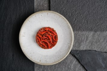 Grill pepper tartar