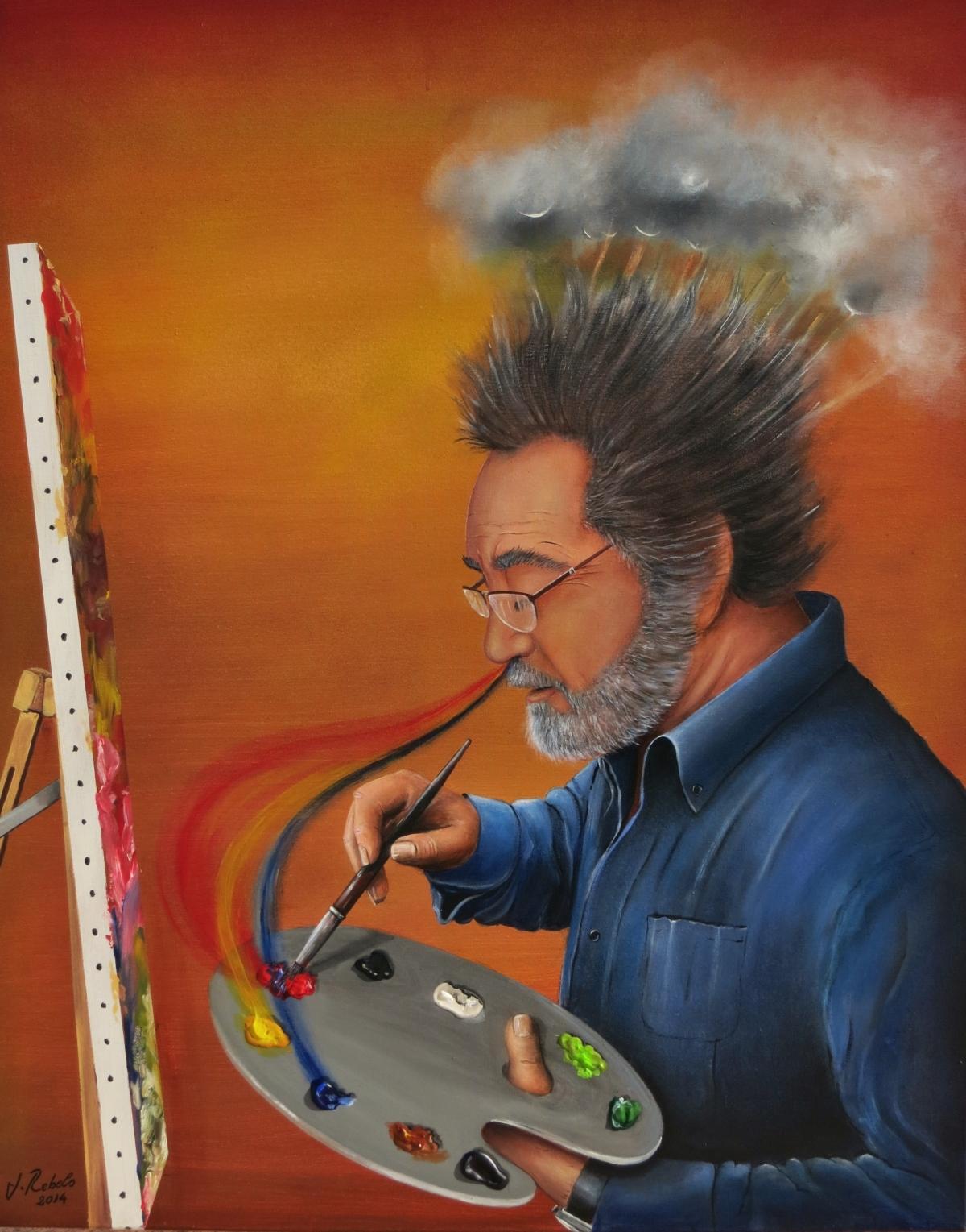 Jorge Rebelo, artistaplástico