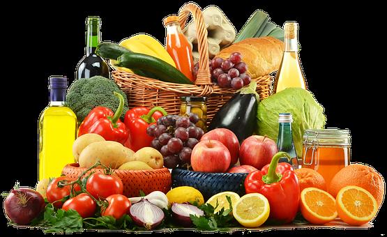cabaz de frutas e legumesfruit-free-2198378__340
