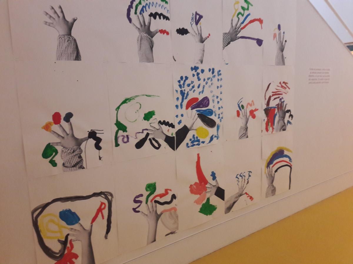 A arte e as crianças no museu ColeçãoBerardo