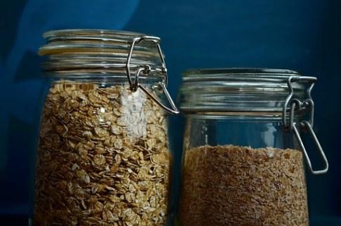 flocos de trigo