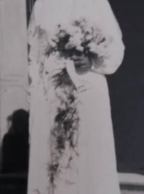 o bouquet da noiva